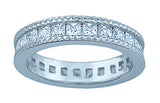 1 5ct princess 925 silver sterling couture wedding ring set esperanza