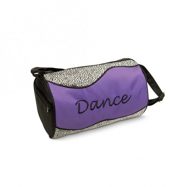 Silver Sizzle Duffle Dance Bag by Danshuz