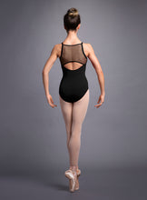 Load image into Gallery viewer, Cami Leo with Weave Trim By Bloch L3597