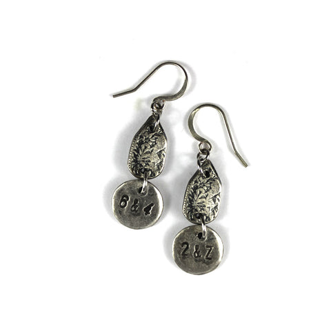 6&4 ~ 2&Z Earrings