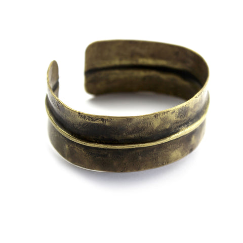 Brass Cuff Bangle