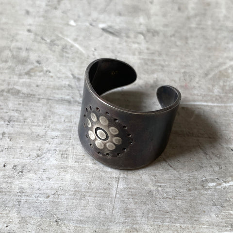 Flower Power Cuff Ring