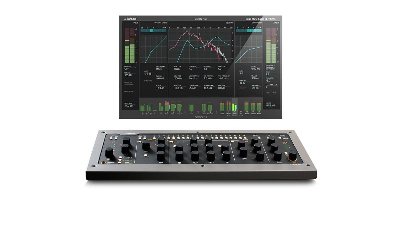 Softube Console 1: Analog Approach to Digital Mixing