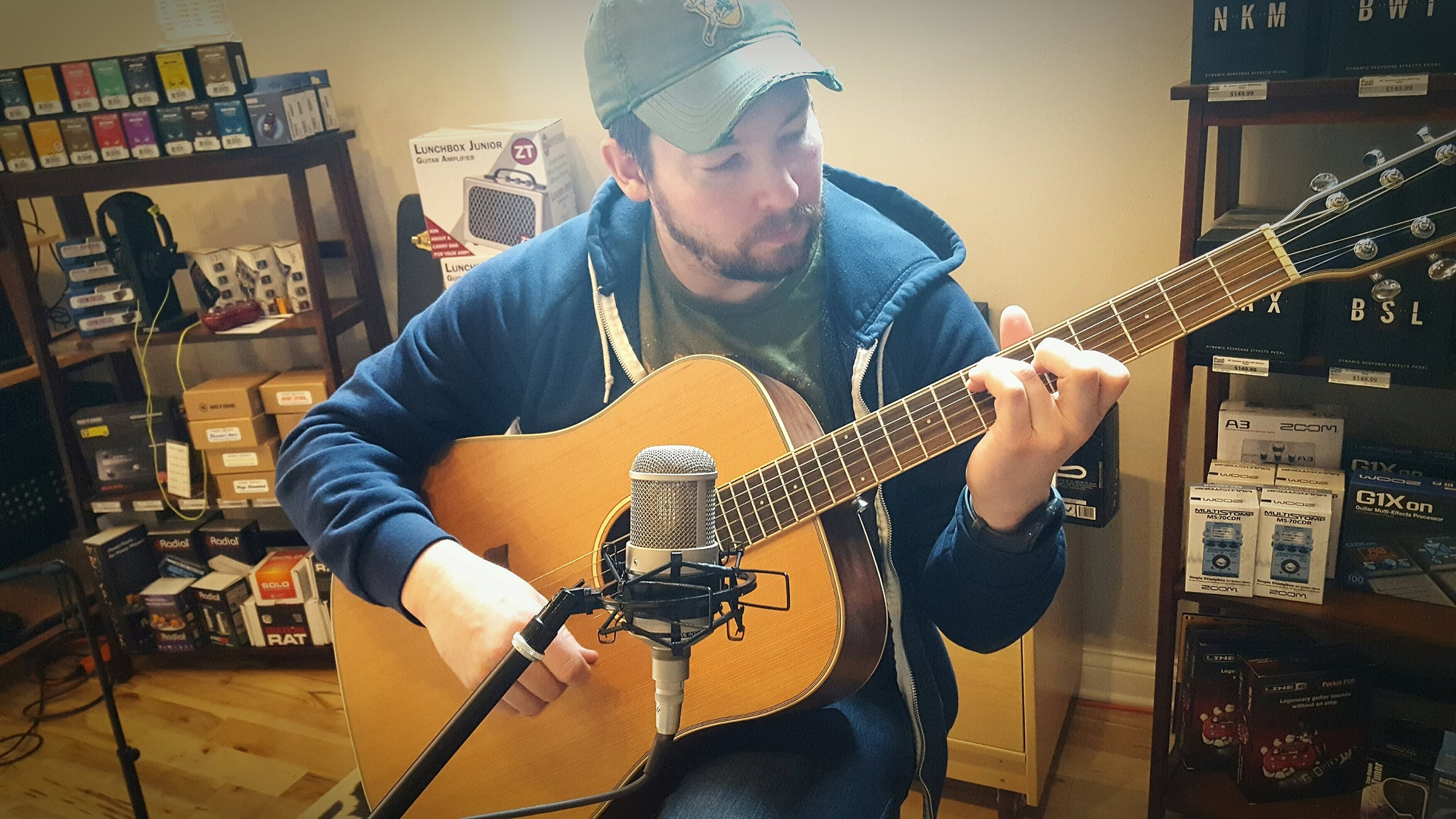 5 Secrets to a Better Acoustic Guitar Recording