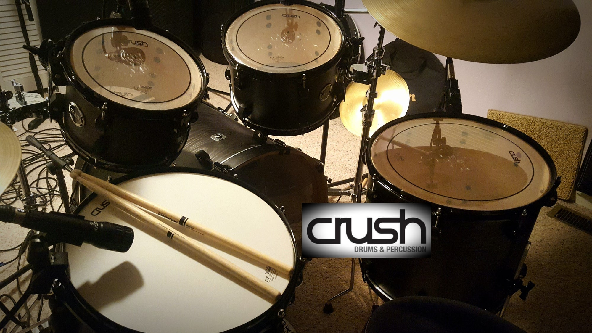Drum Kit Review - Crush Chameleon Ash - Free Drum Samples Inside!