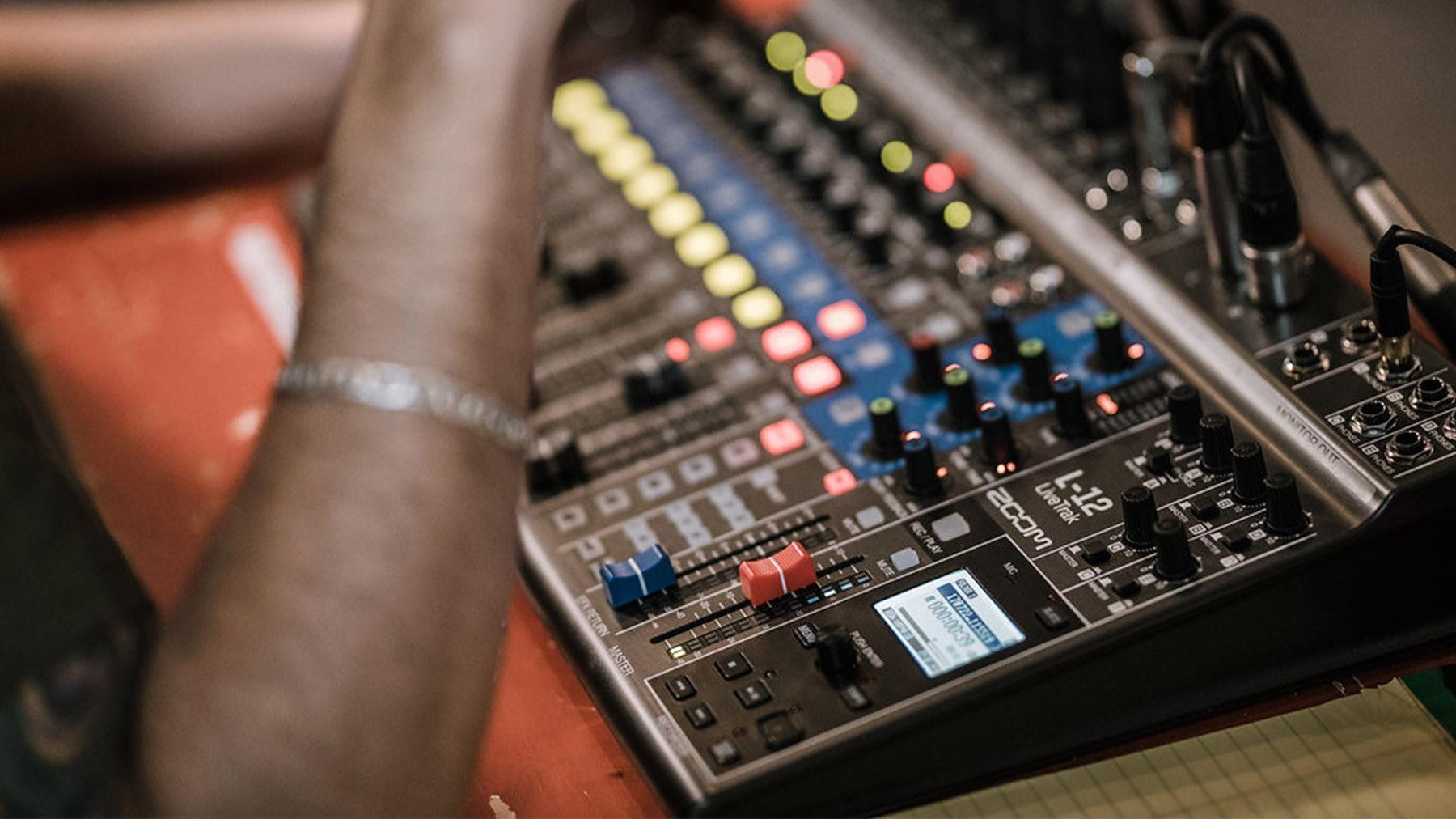 New from ZOOM - LiveTrak L-12 Mixer, Digital Recorder and USB Interface