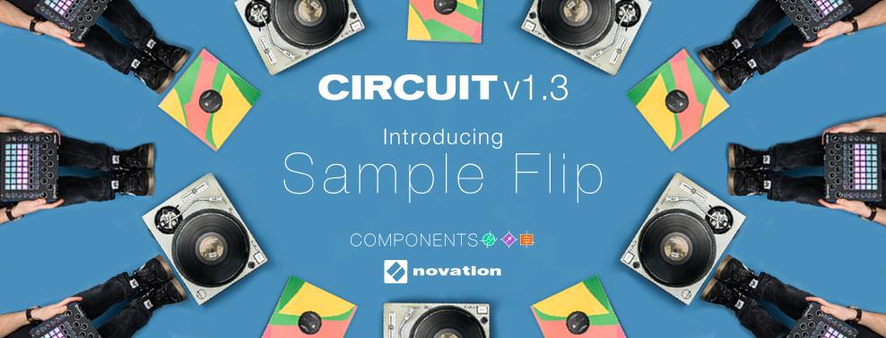 Novaiton Updates Circuit Frmware to v1.3 - Adds Sample Flip and More!