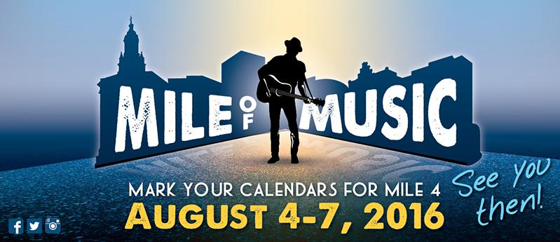 Mile of Music - Extended Hours and 10% Off!