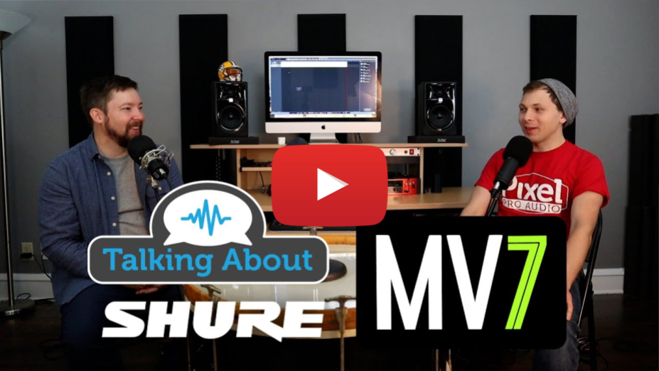 Announcing the Shure MV7!