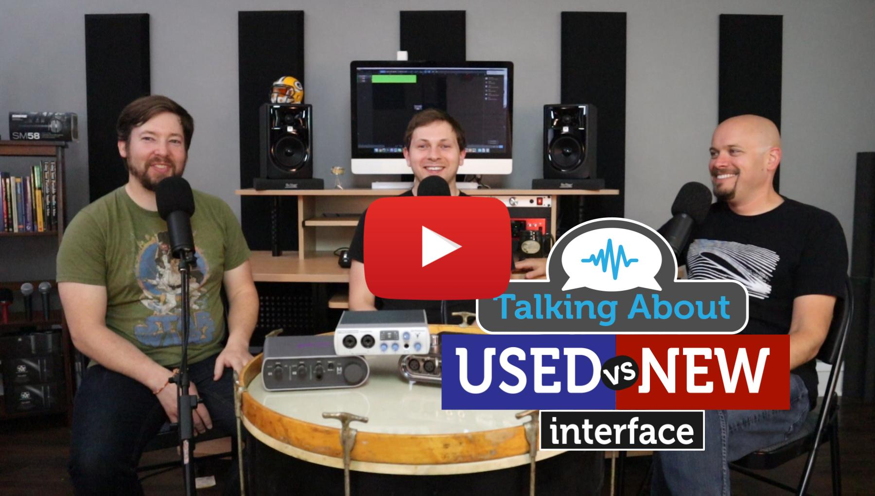 Weekly Show - PPA: Unfiltered - Should You Buy a New or Used Audio Interface?