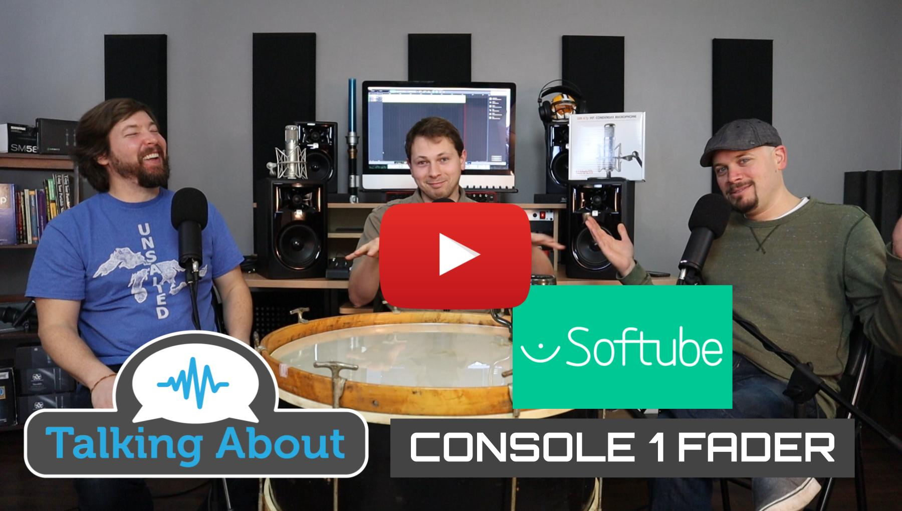 Weekly Show - PPA Unfiltered - Softube Console 1 Fader