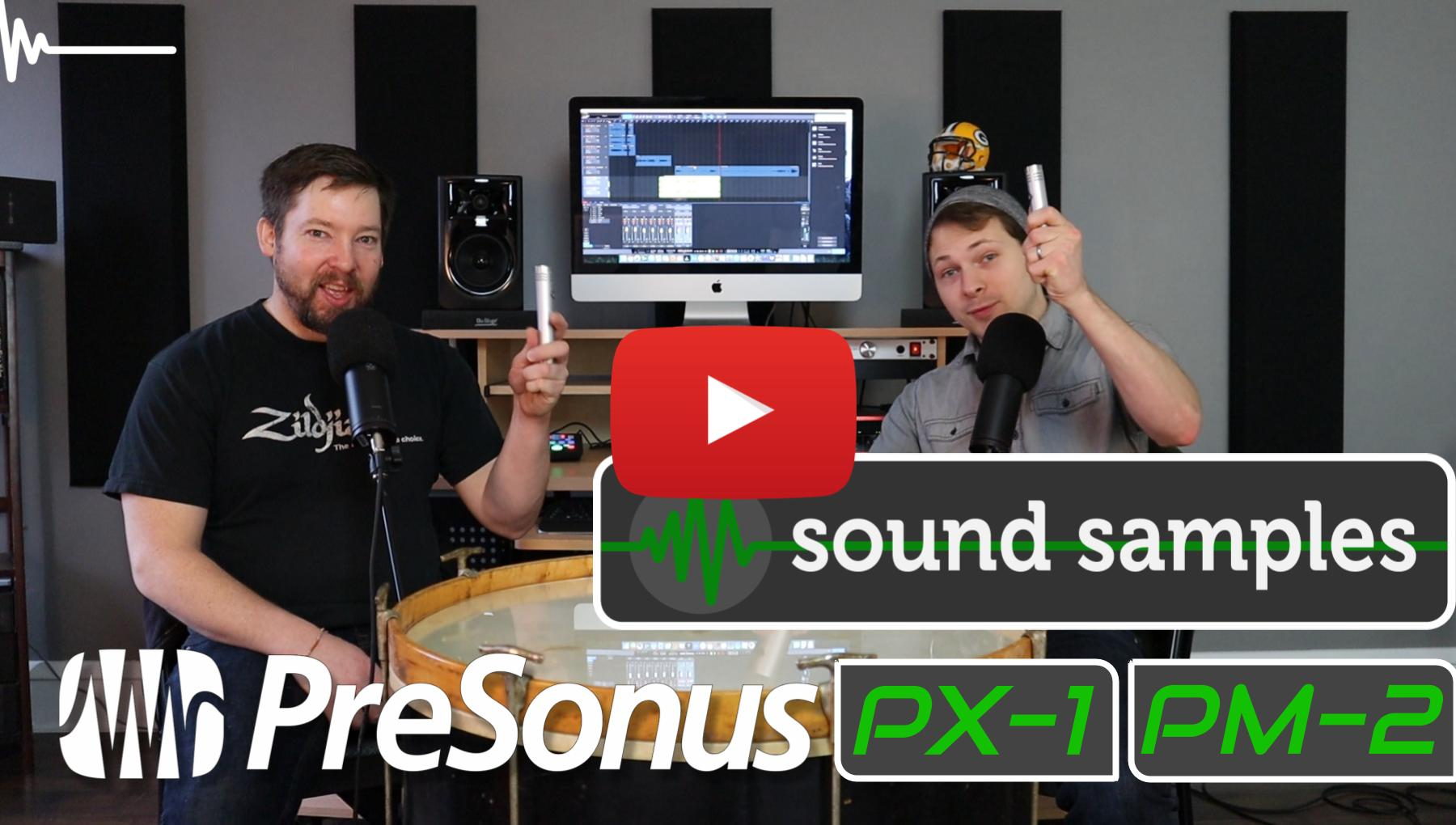 Weekly Show - PPA Unfiltered - PreSonus PX-1 and PM-2 Sound Samples!