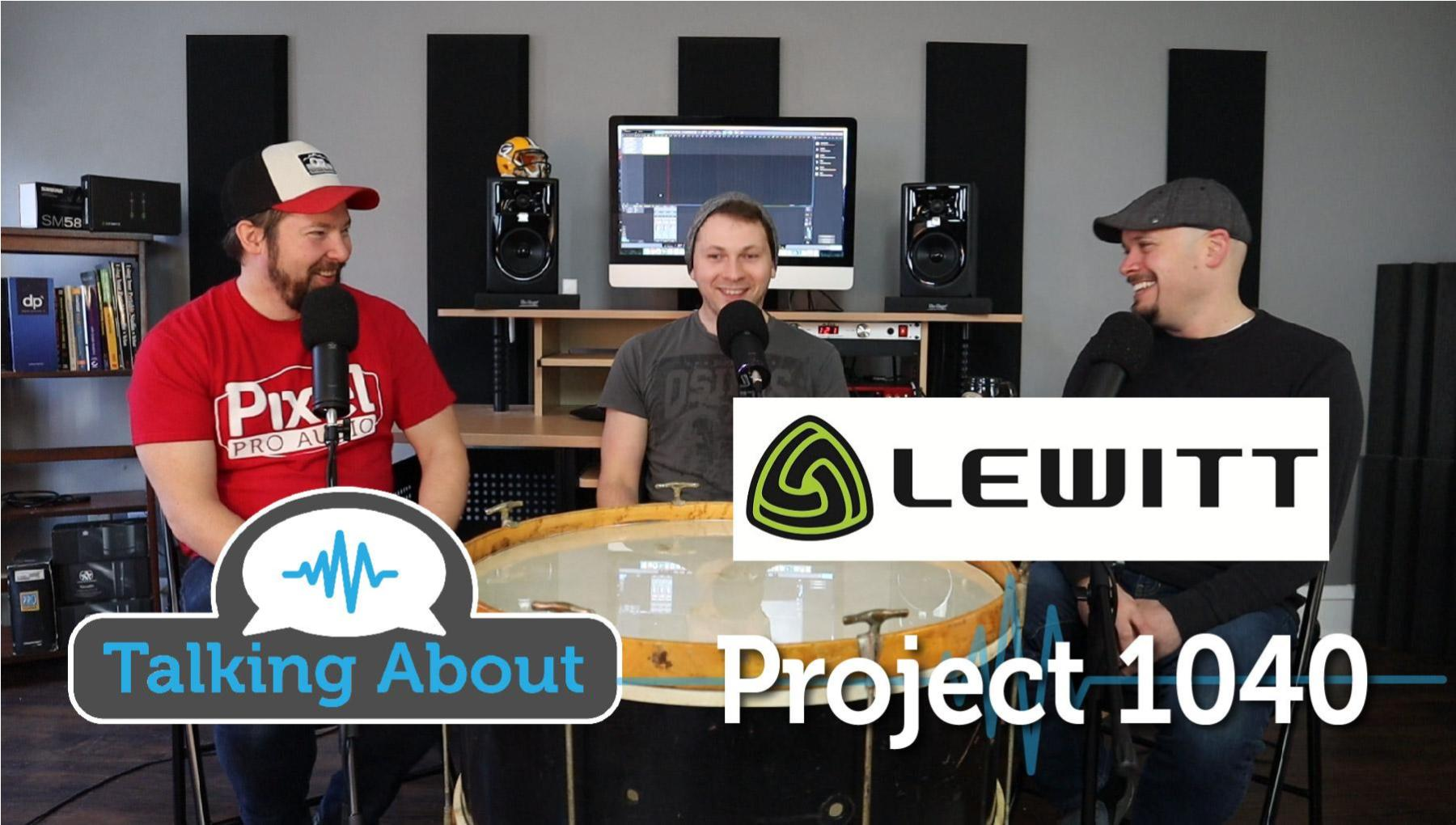 Lewitt Project 1040 - Could it be the Ultimate Studio Mic?