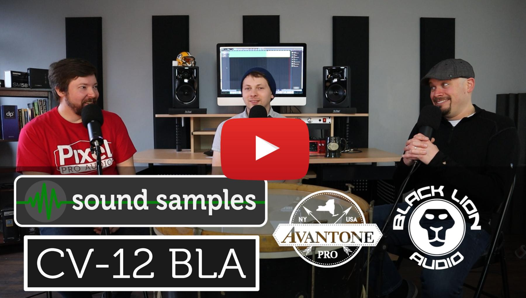 PPA Unfiltered - Avantone CV-12 BLA Sound Samples