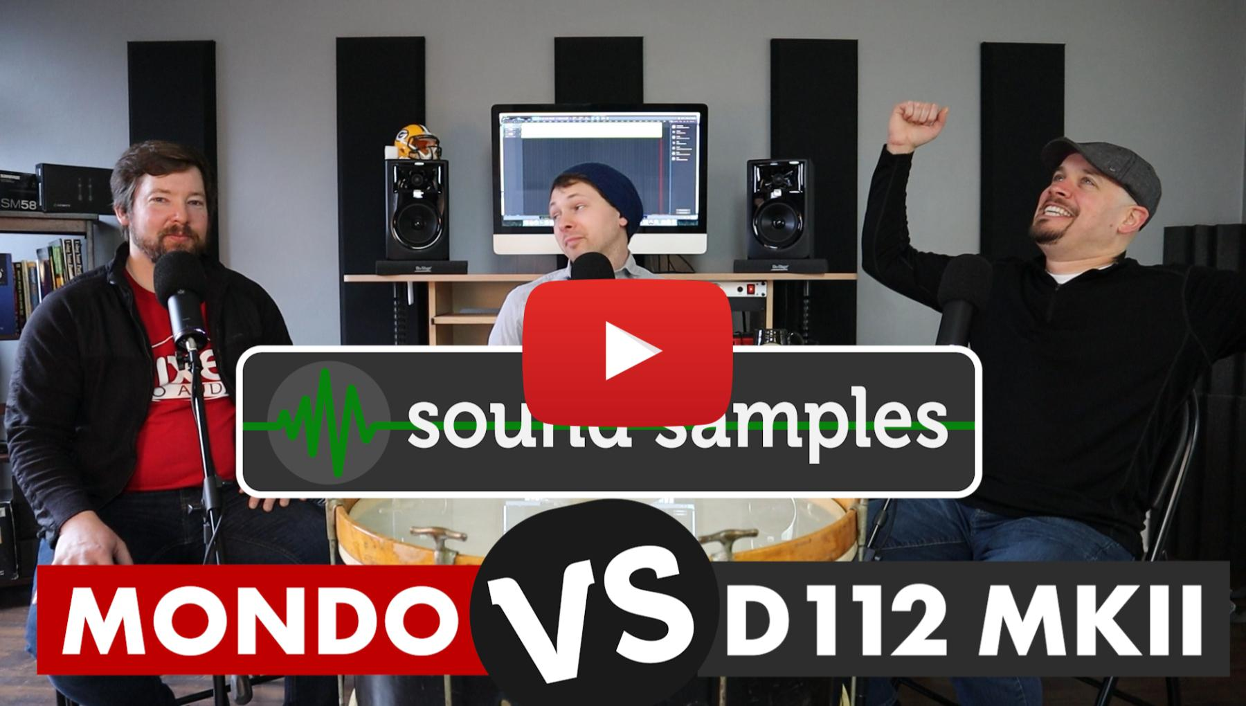 Sound Samples - AKG D112 MKII vs Avantone Mondo Kick Mic