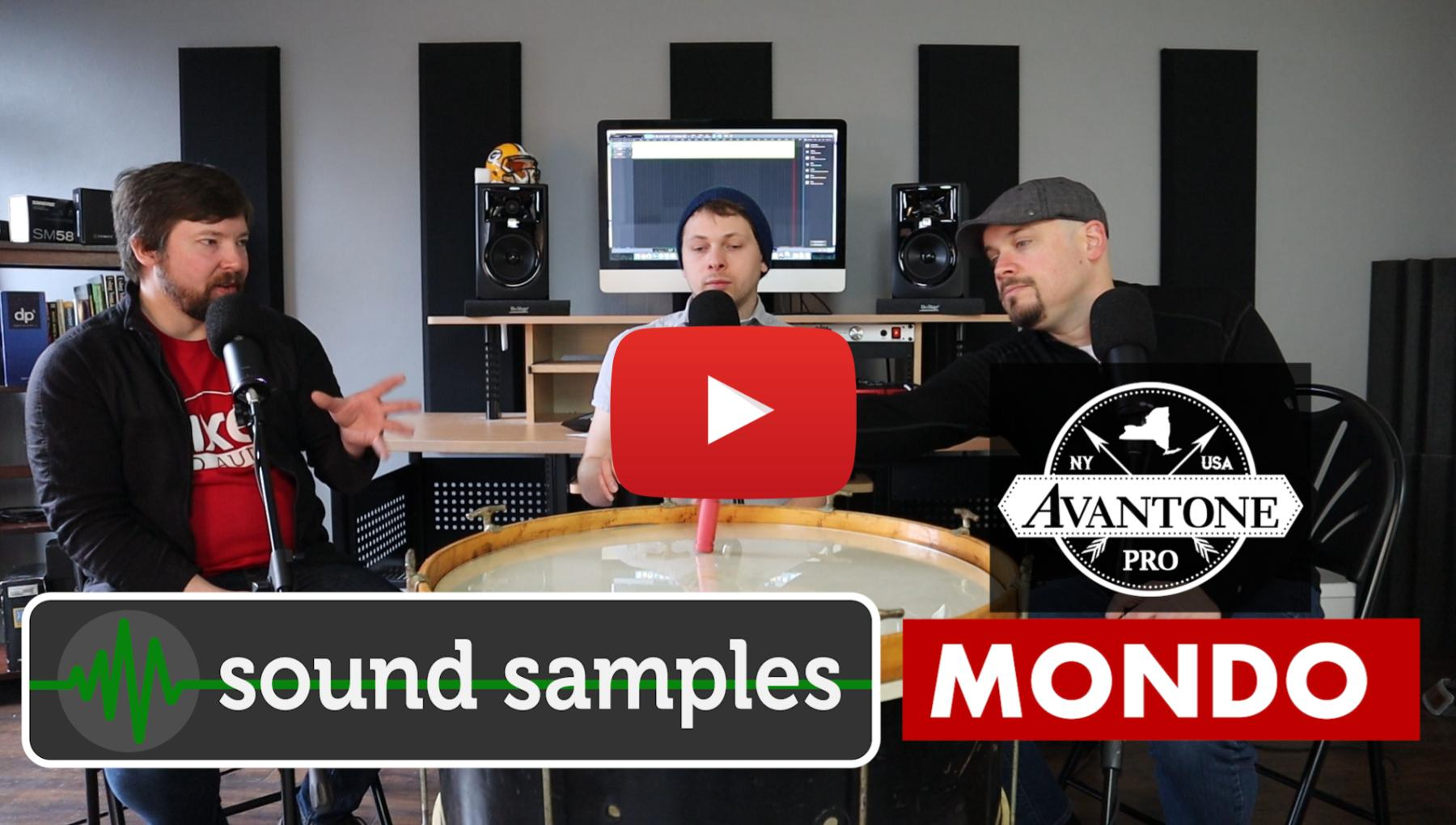Sound Samples of the Avantone MONDO - PPA Unfiltered