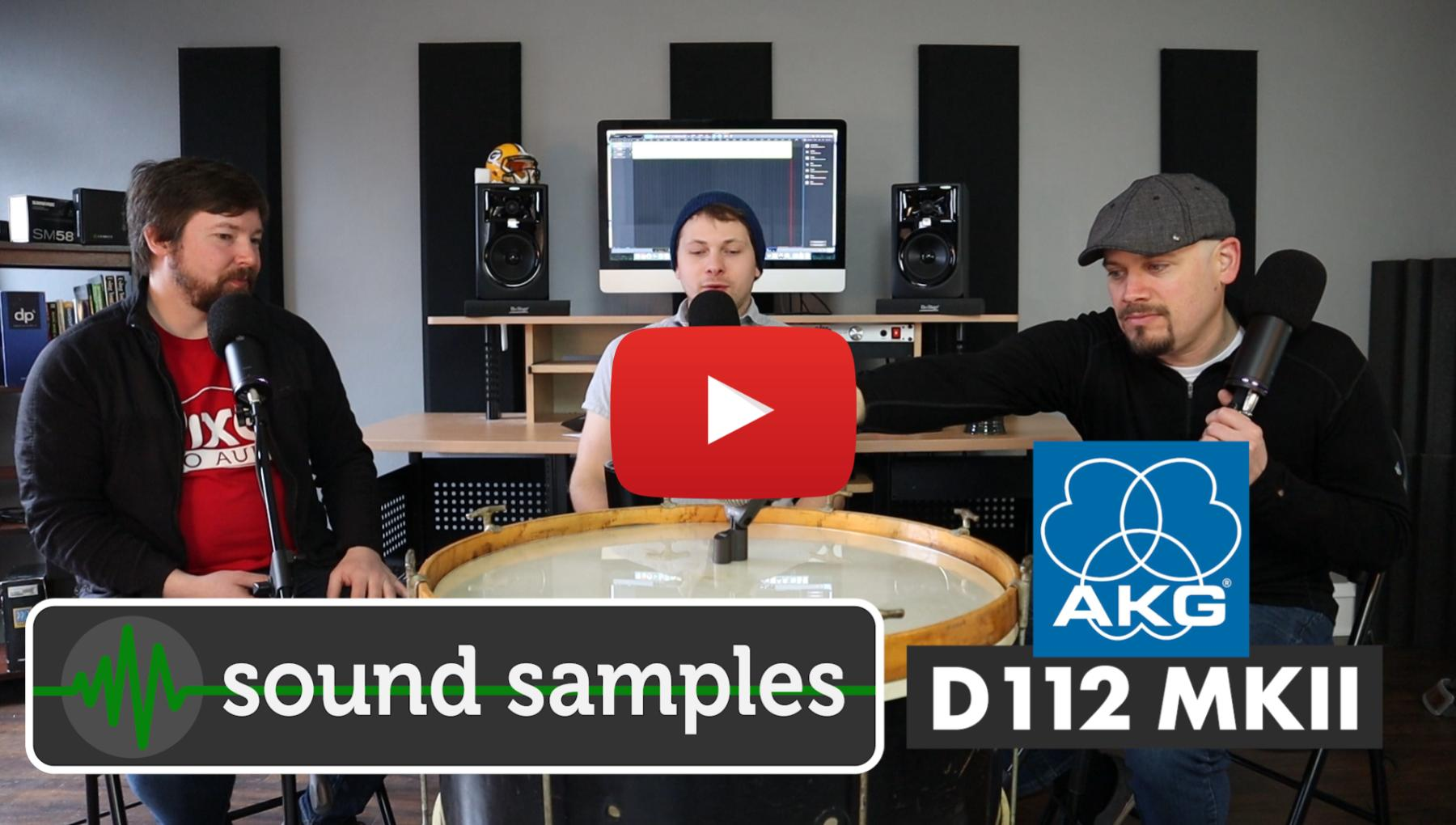 Video Thumbnail - AKG D112 MKII with Sound Samples