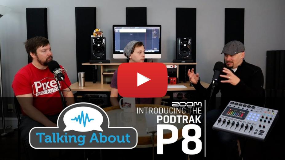 New from Zoom - PodTrak P8