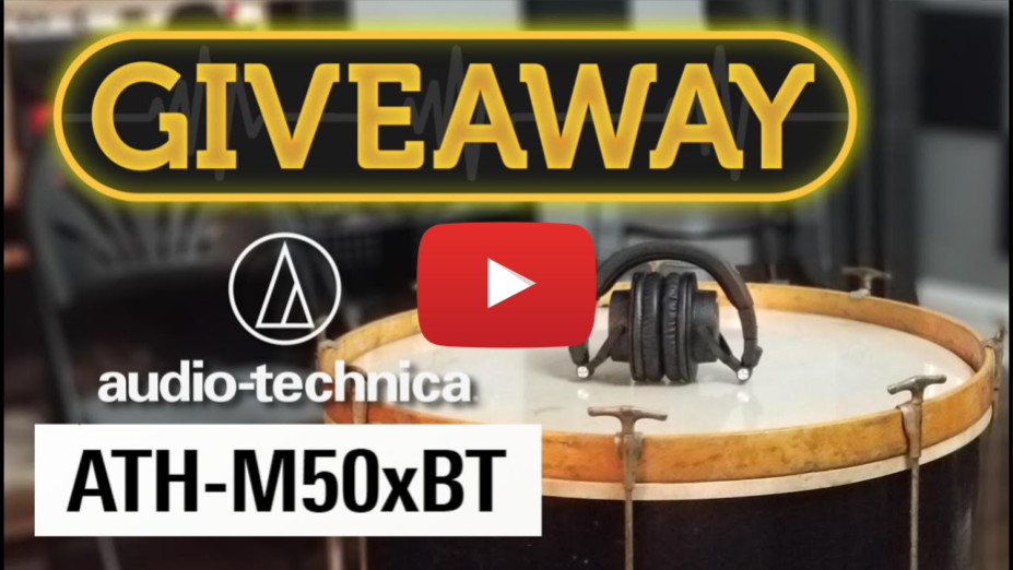 GIVEAWAY! - Audio-Technica ATH-M50xBT