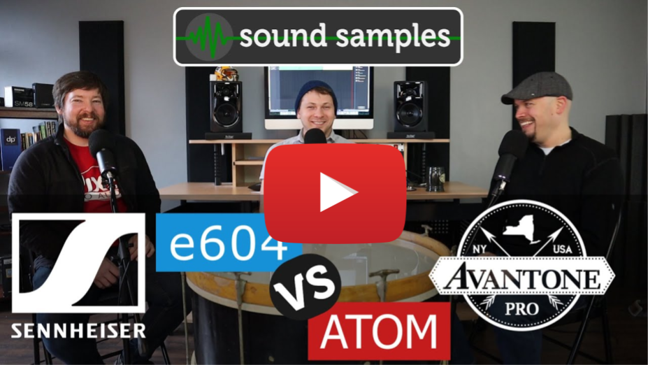 PPA Unfiltered: Tom Mic Shootout - Sennheiser e604 vs Avantone ATOM