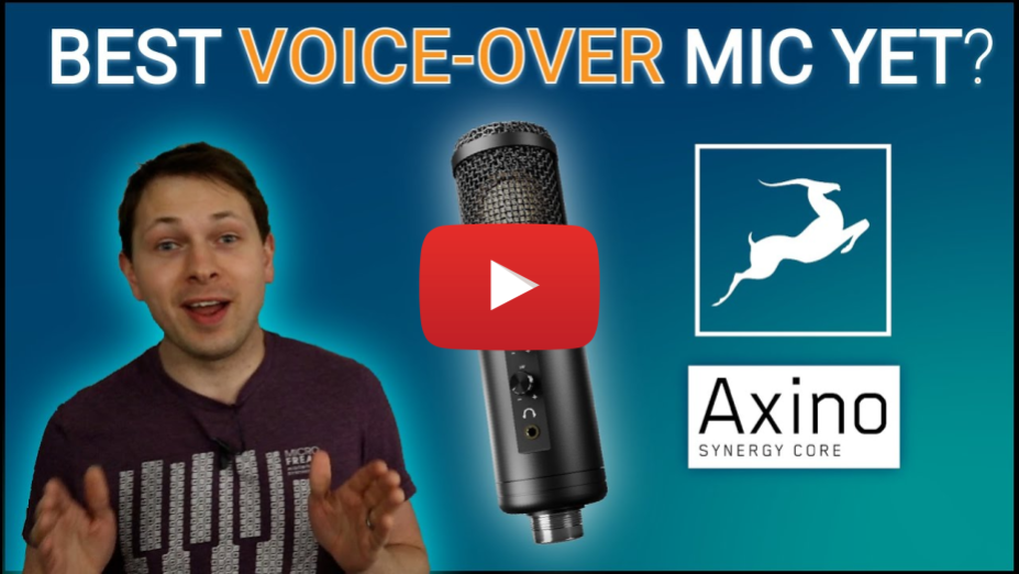 NEW: Antelope Audio Axino USB Microphone!