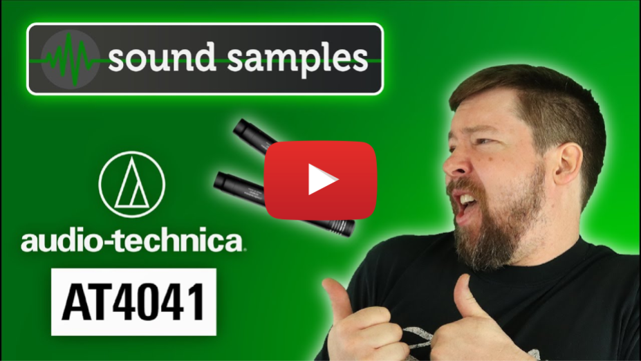 Audio-Technica AT4041 - Sound Samples