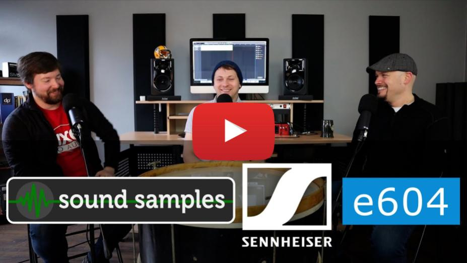 Sound Samples - Sennheiser e604 Tom Mics