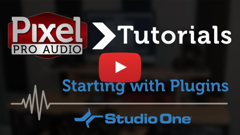 Tutorial: Plugins - Getting Started in Studio One
