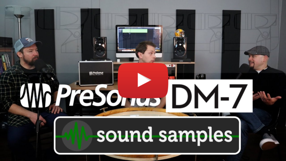 Sound Test - PreSonus DM7 Drum Mics