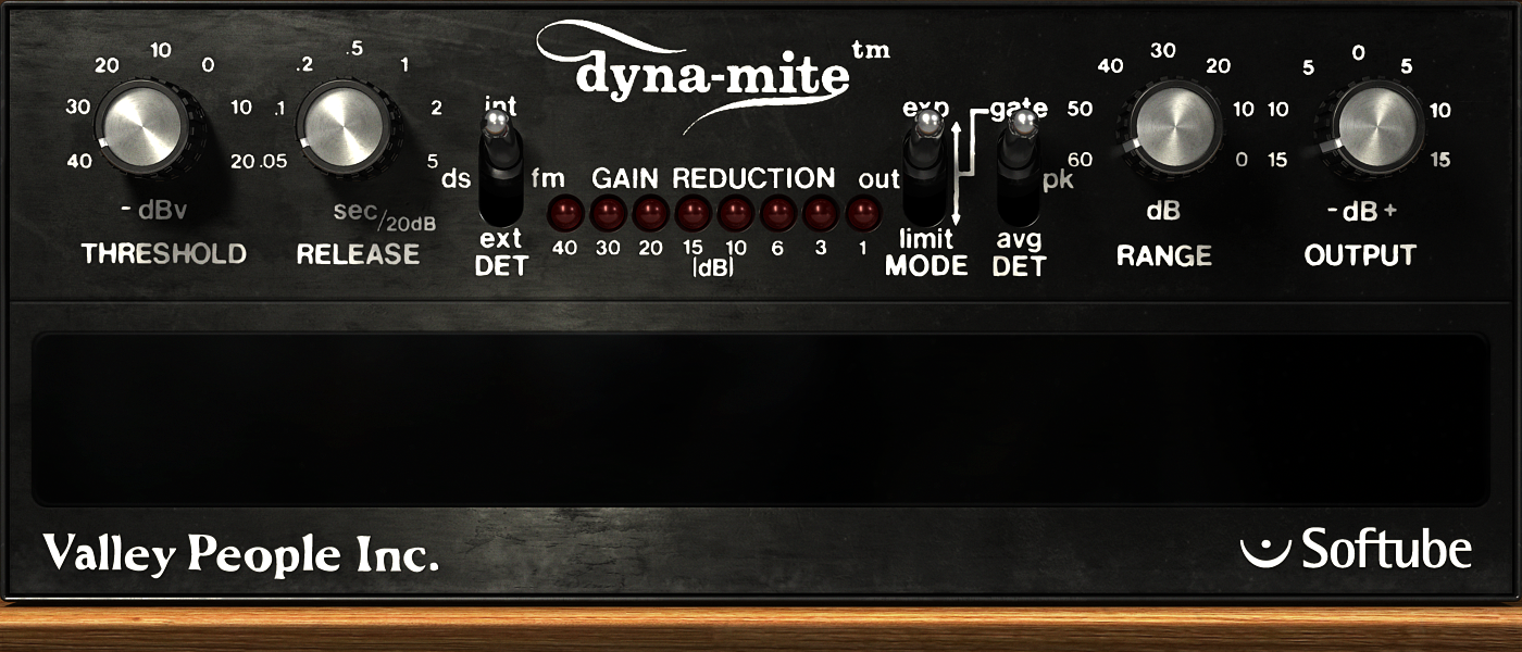 Softube: Valley People Dynamite $70 OFF FLASH SALE! - Sound Samples Here