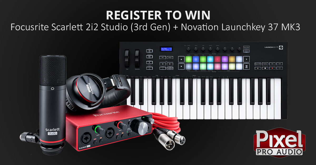 GIVEAWAY - Scarlett 2i2 Studio and Launchkey 37!