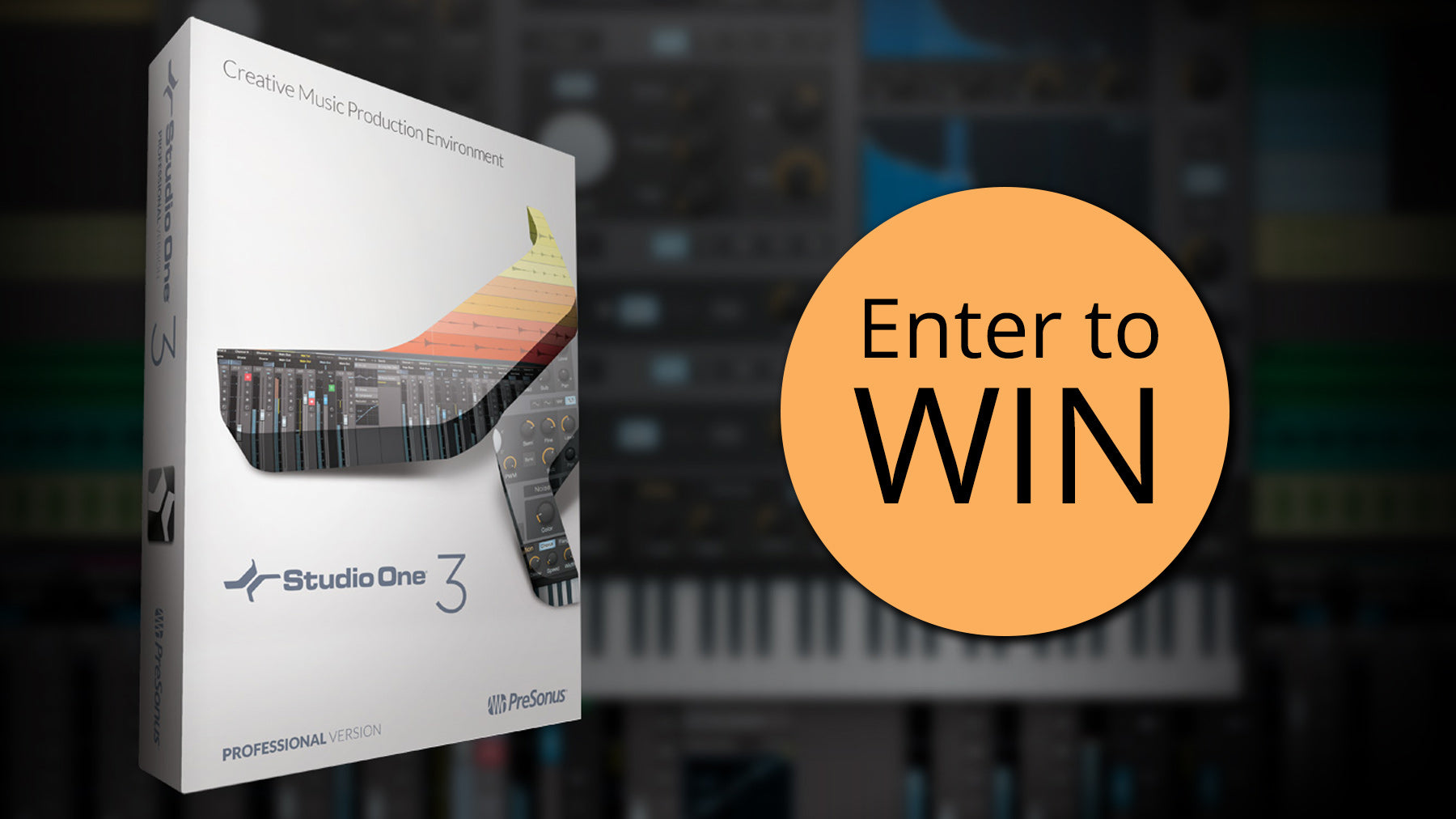 Give Away - Win a Boxed Copy of Studio One 3 Professional