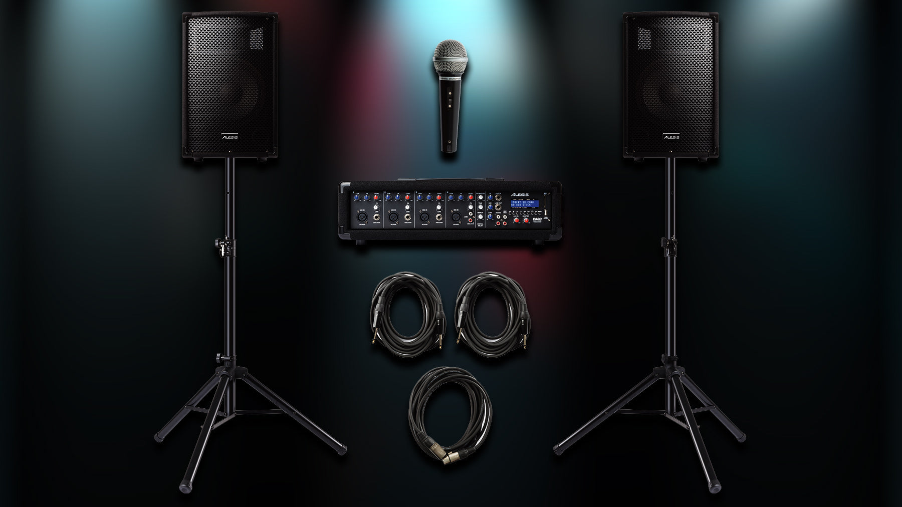 New Alesis PA System Bundle!