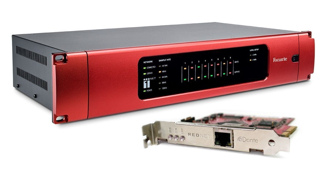 Focusrite RedNet: An Ethernet Interface Revolution