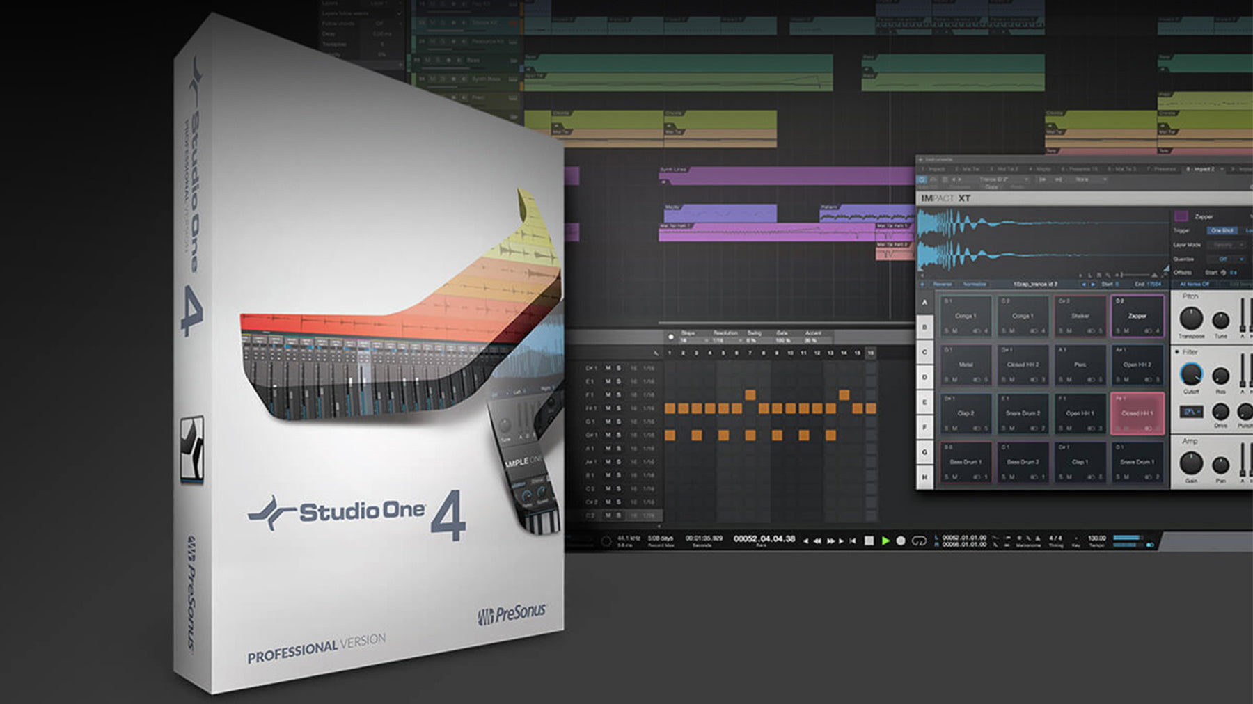 PreSonus Studio One 4 - Highlights