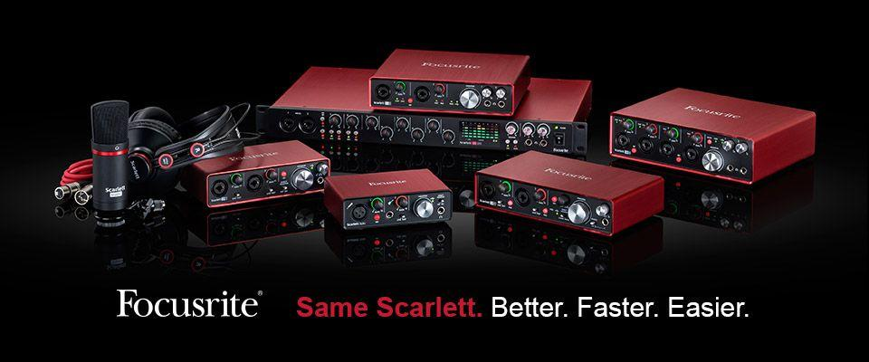 Focusrite Scarlett: 2nd Generation