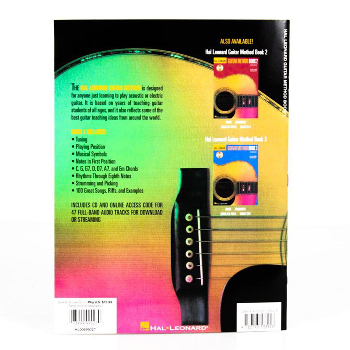 Hal Leonard Guitar Method Book 1 Book/CD/Online Audio Pack