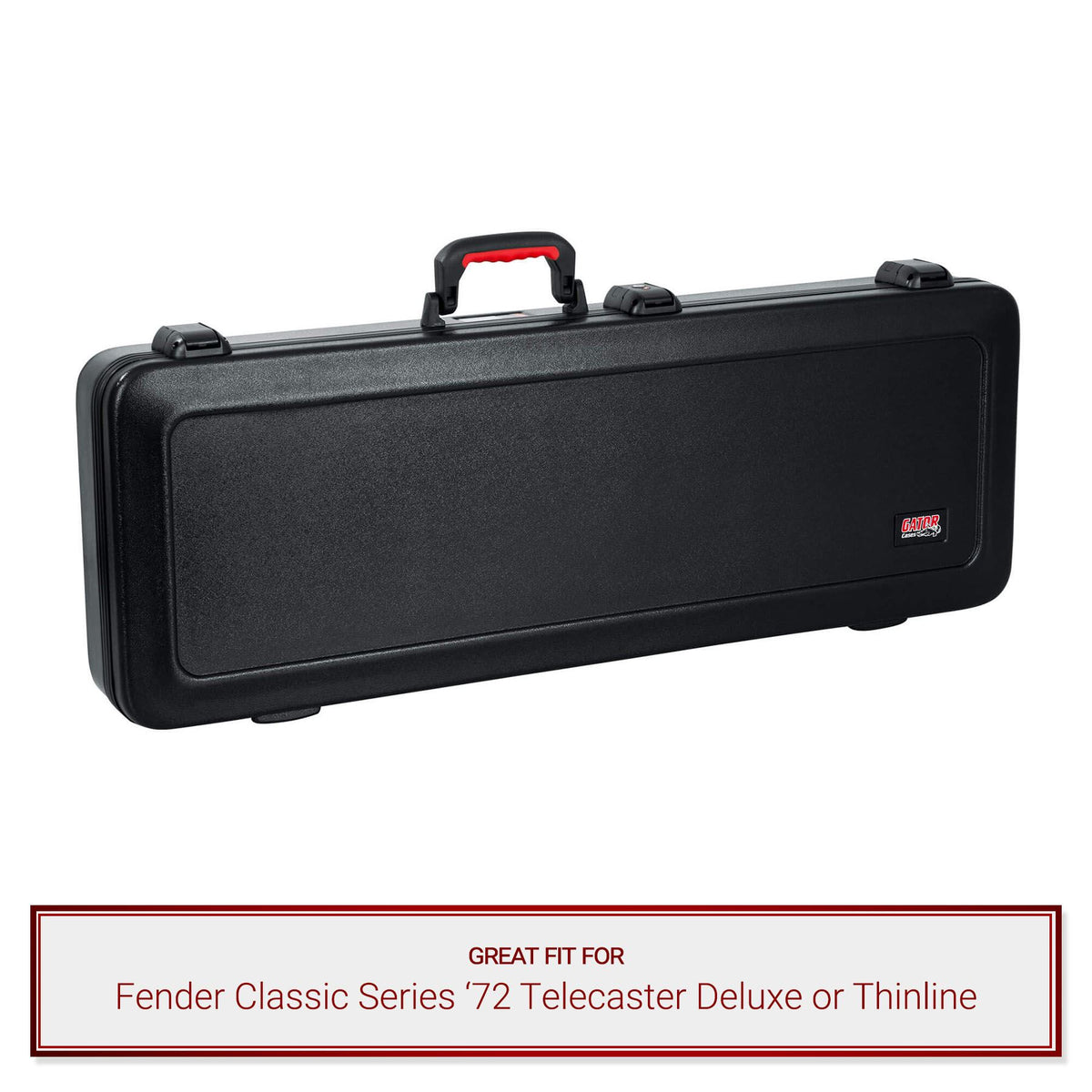Gator TSA Guitar Case fits Fender Classic Series '72 Telecaster Deluxe/Thinline