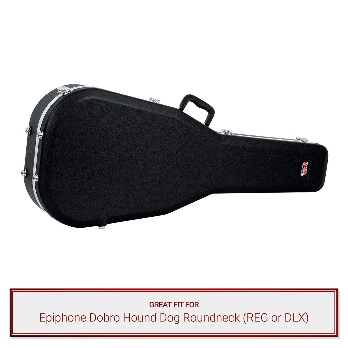 Gator Classical Guitar Case fits Epiphone Dobro Hound Dog Roundneck (REG or DLX)