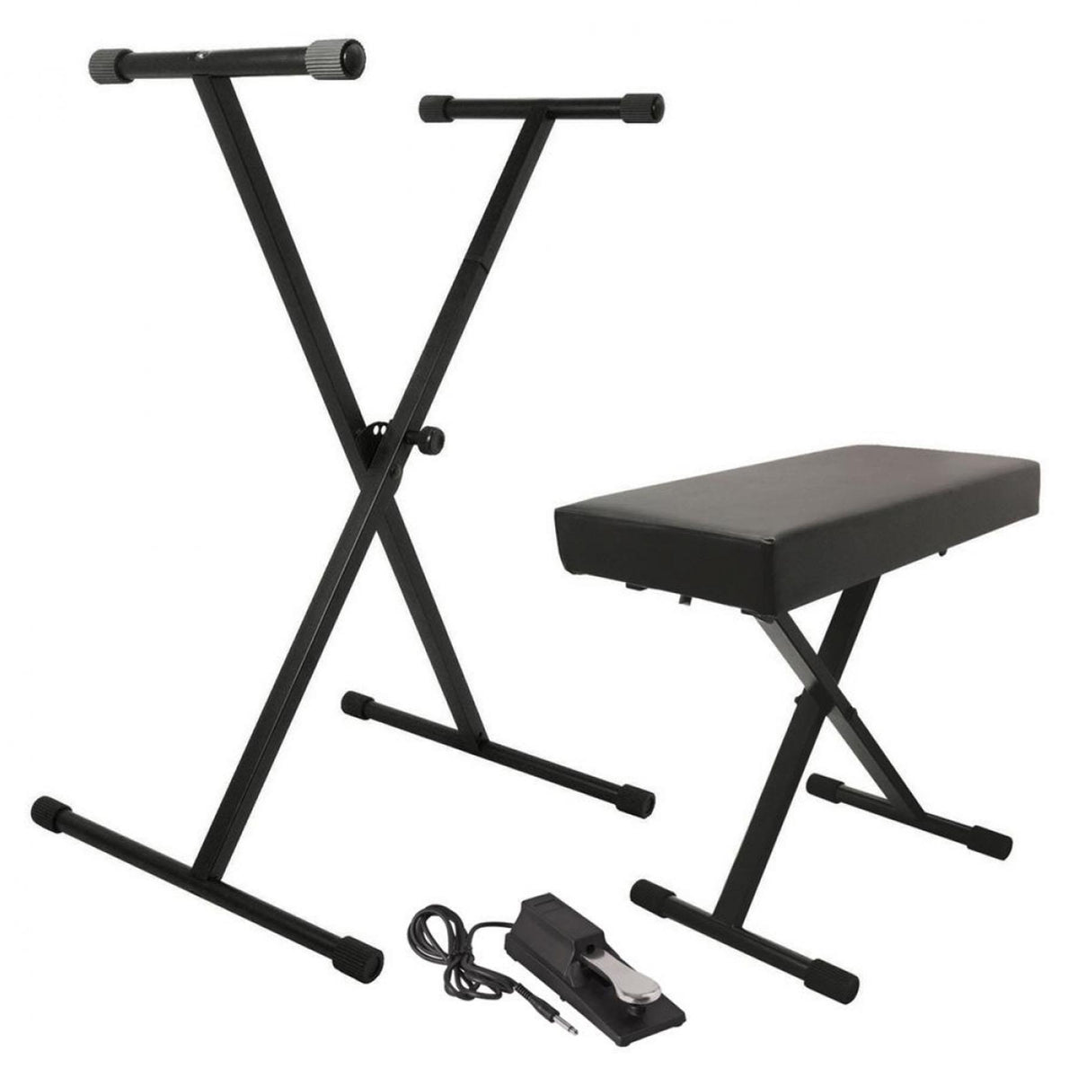 On-Stage KPK6550 Keyboard Pack with Stand, Bench, Sustain Pedal