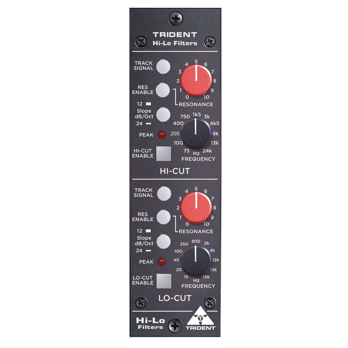 Trident Audio Hi-LO 500-Series Dynamic Tracking Filters Module