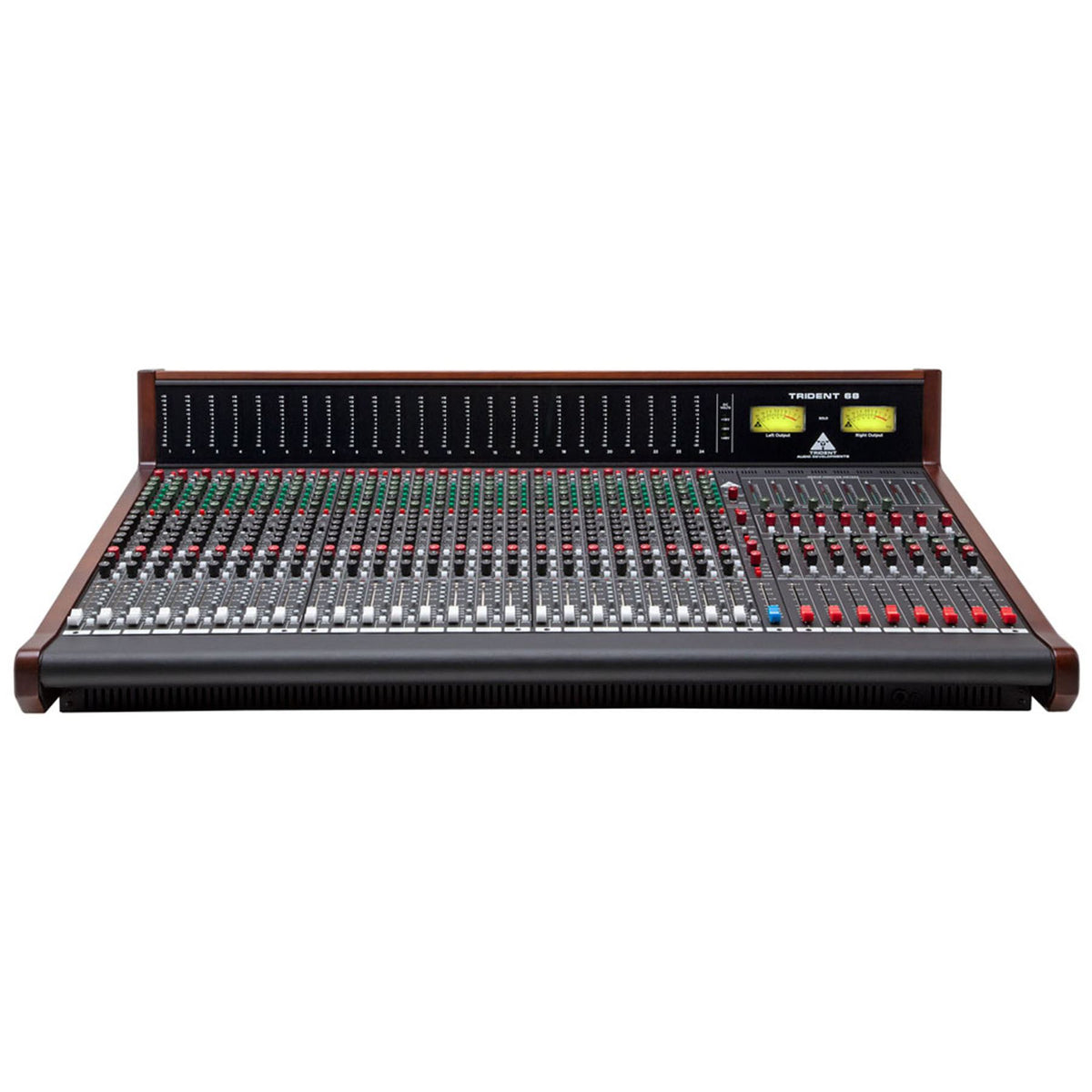 Trident Audio 68-24 24-Channel 8 Buss Studio Console with LED Meter Bridge