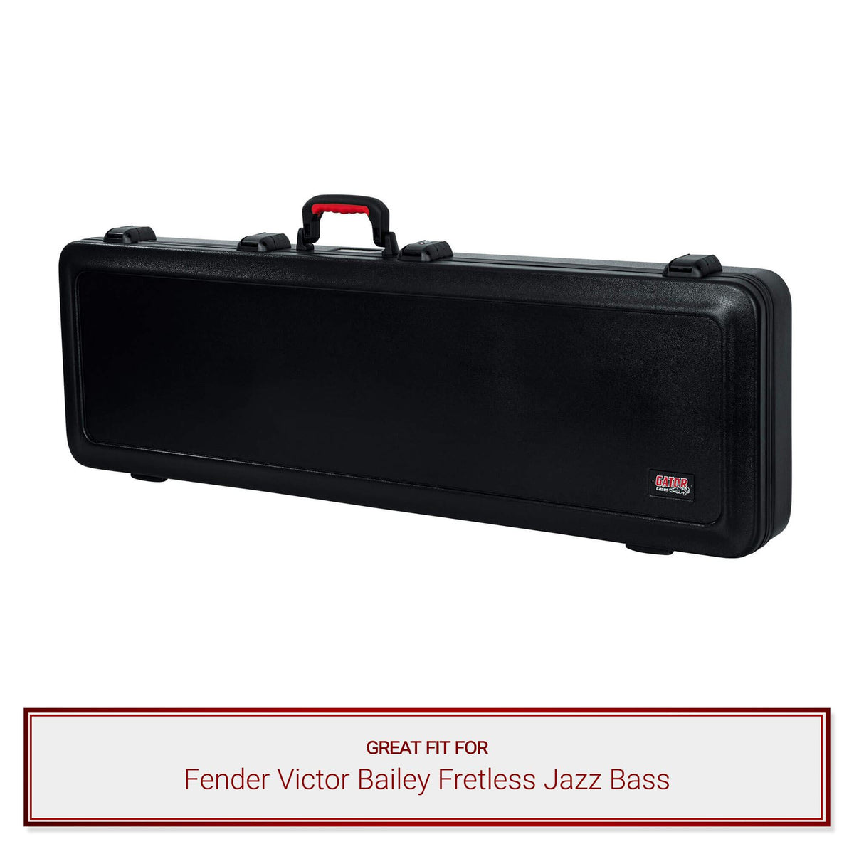 Gator ATA Bass Guitar Case fits Fender Victor Bailey Fretless Jazz Bass