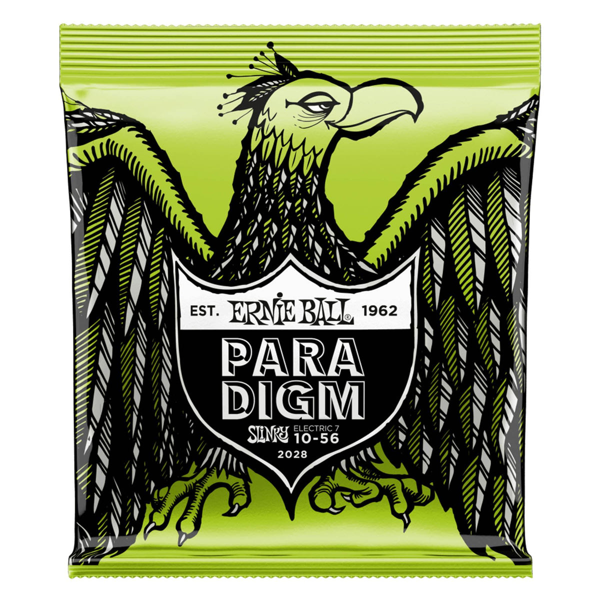 Ernie Ball P02028 Paradigm Regular Slinky 7-String Electric Guitar Strings