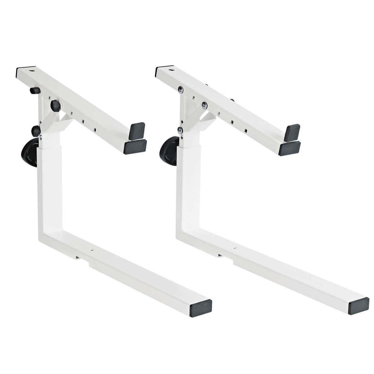 K&M 18811 Pure White 2nd Tier Stacker for Omega-E (18800), Omega (18810), and Omega Pro (18820) Keyboard Stands