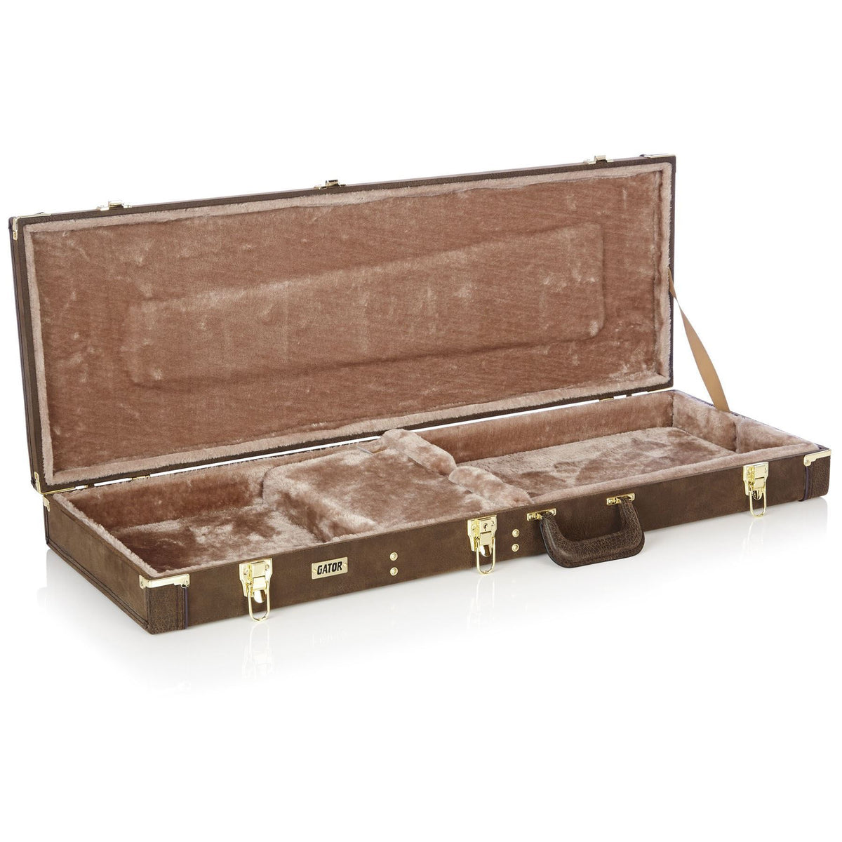Gator Cases Vintage Brown Case for Ibanez JS1200 Joe Satriani Signature Electric Guitars