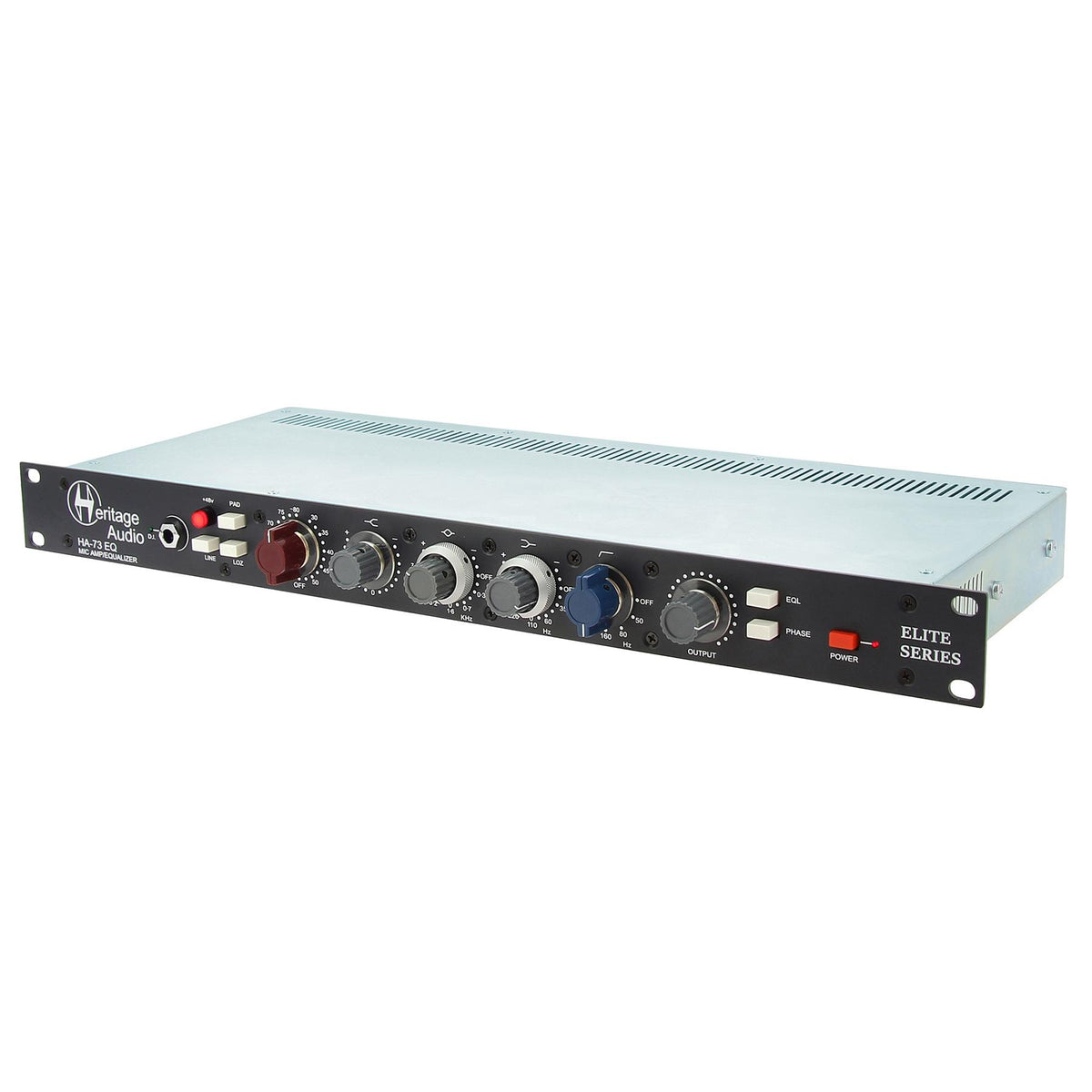 Heritage Audio HA73EQ Elite Single Channel Microphone Preamplifier with Parametric Equalizer