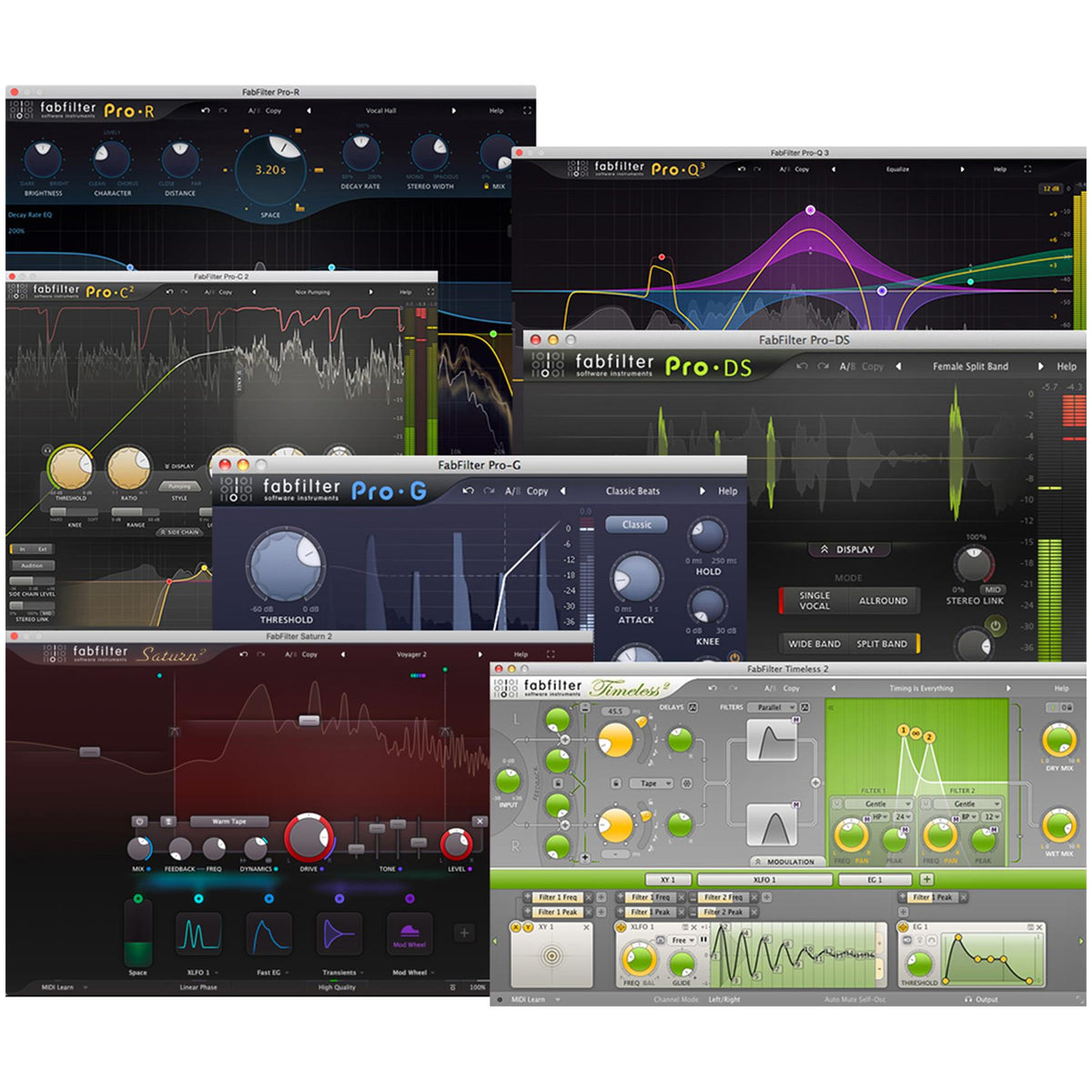 FabFilter Mixing Bundle - 2020 Release (Digital Download)