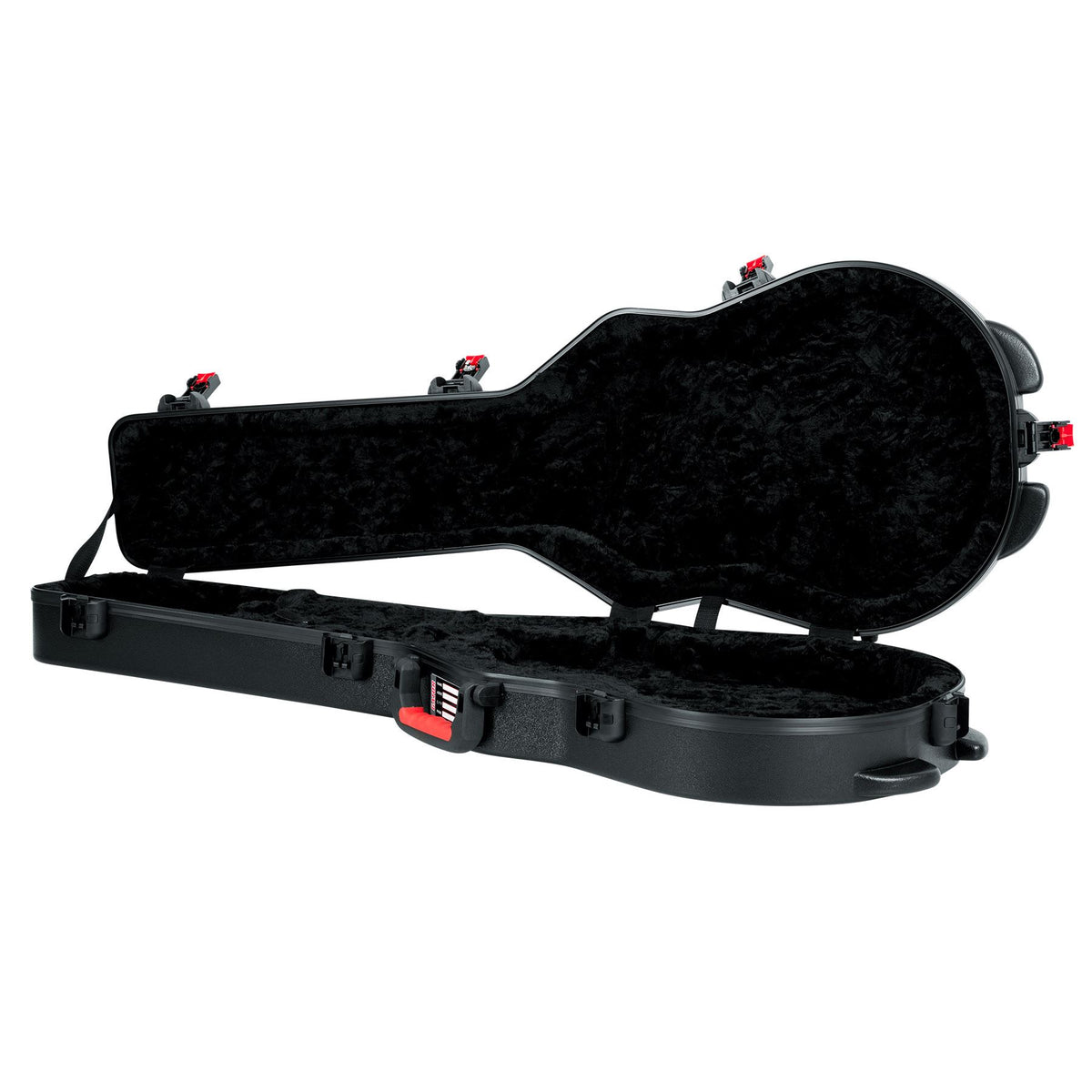 Gator GTSA-GTRLPS TSA Series ATA Molded Polyethylene Guitar Case for Gibson Les Paul and Single Cutaway Electric Guitars