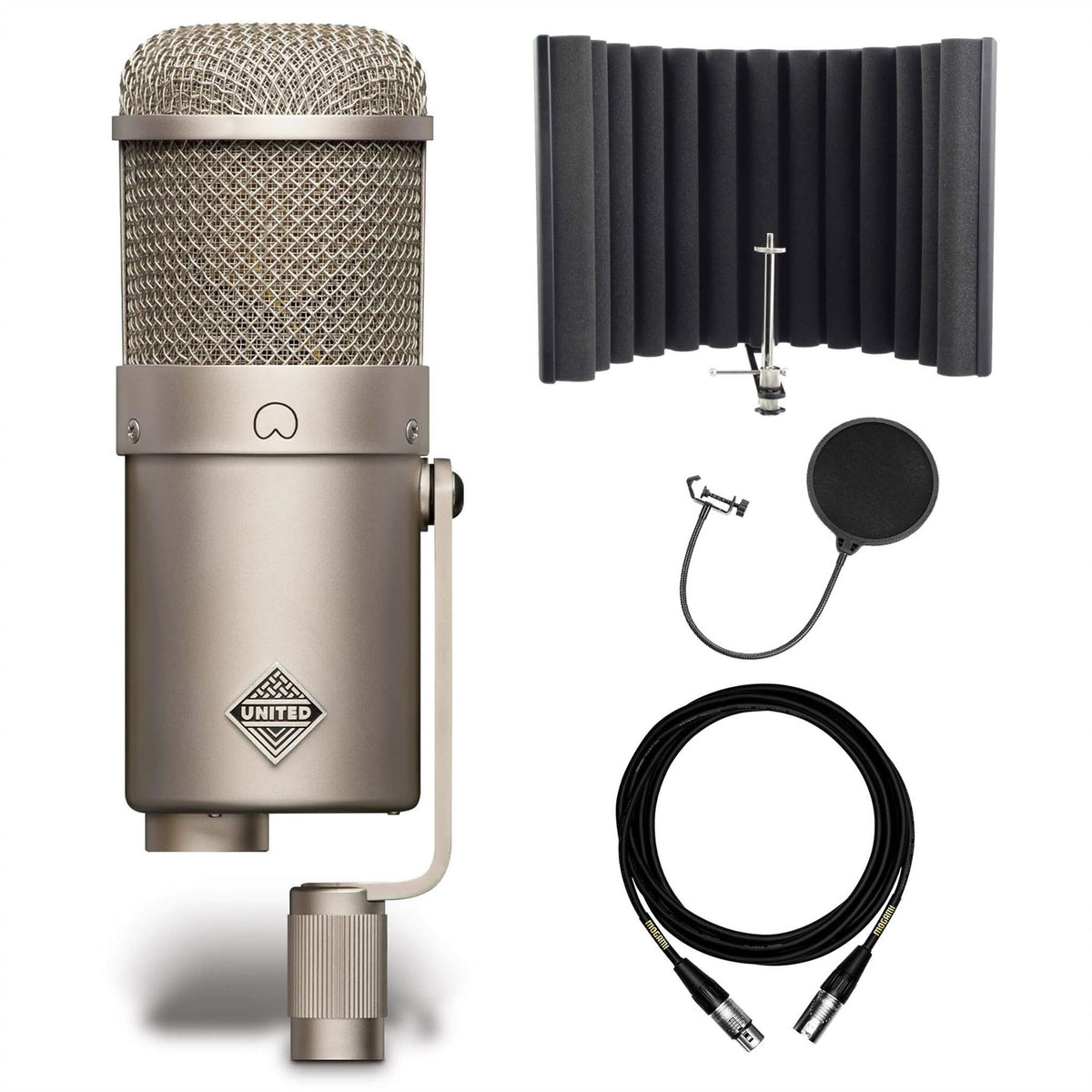 United UT FET47 w/ sE Electronics RF-X, Mogami Cable & Pop Filter Bundle